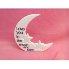 12mm White Corian Moon 2 stars